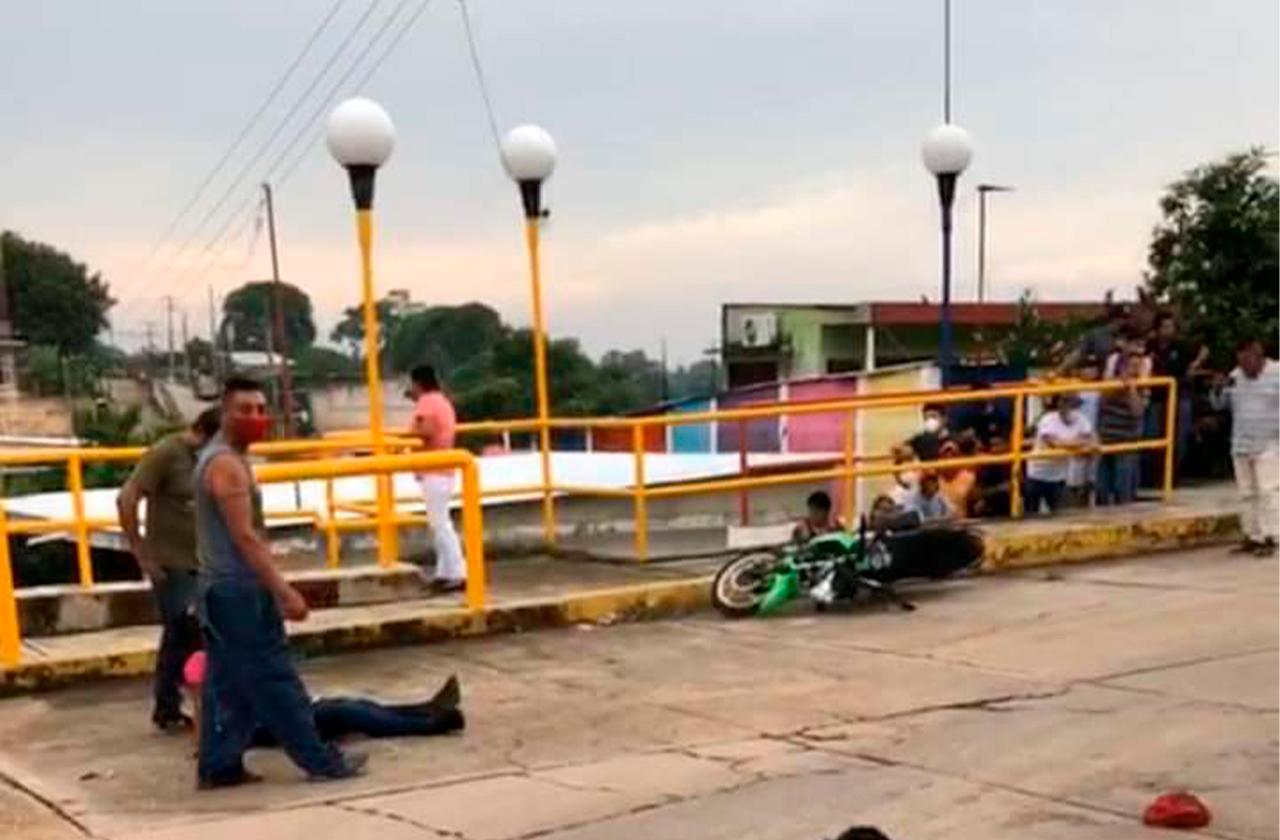 Atentan contra pareja en Acayucan, el hombre murió