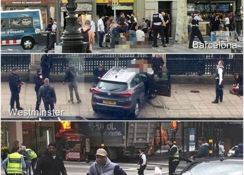Atropellamiento masivo, el modus operandi de los ataques en Europa