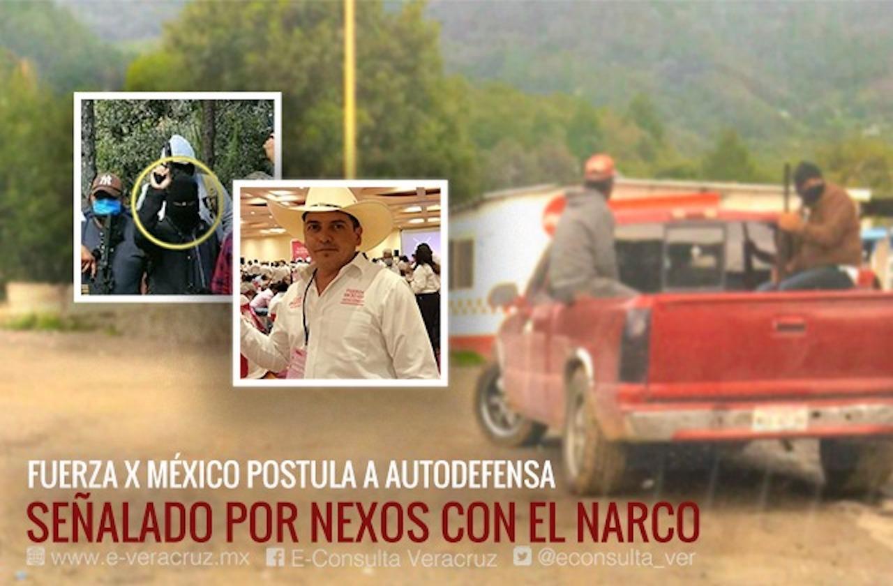 Autodefensa señalado como narco es candidato a alcalde en Acultzingo