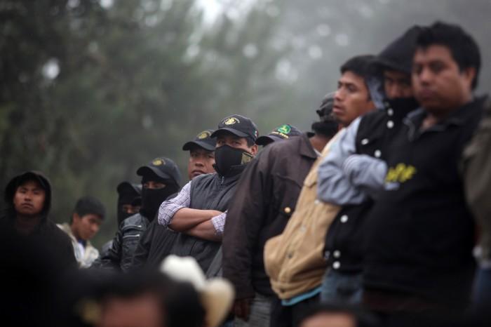 """Autodefensas en Veracruz, muestra de un """"estado fallido"""": Morena"""