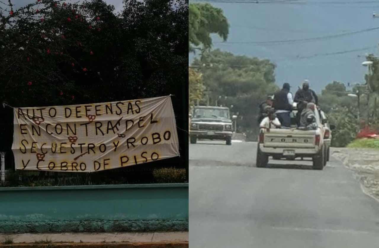 Autodefensas piden alto a inseguirdad en Acultzingo