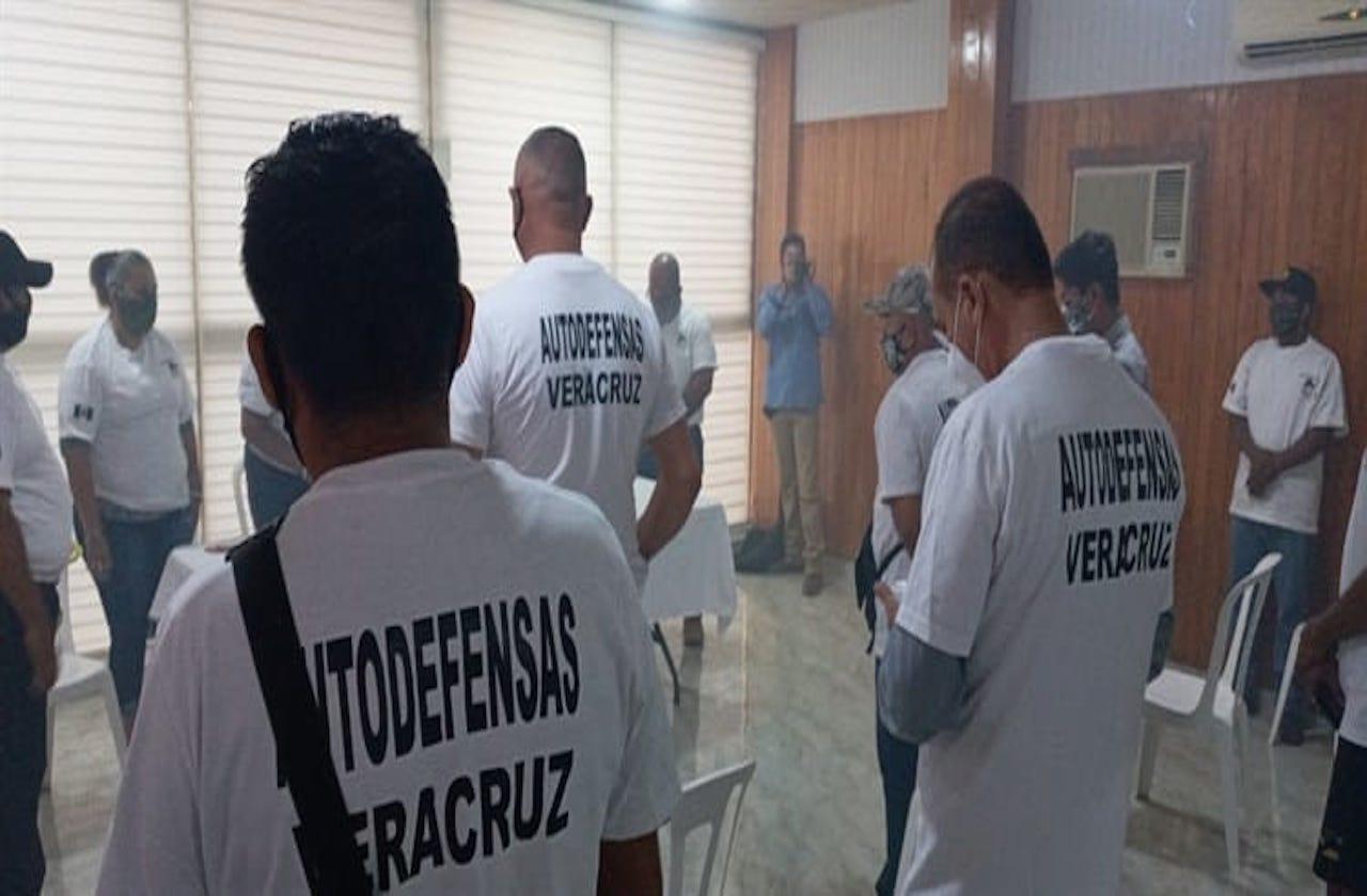 Autodefensas protegen colonias del Puerto de Veracruz: Villalobos