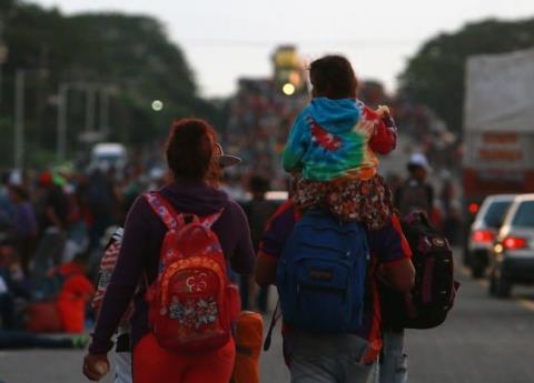 CNDH pide a CDMX coordinación para brindar apoyo a Caravana Migrante
