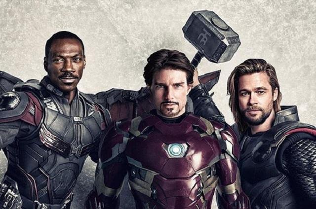 ¿Y si los Avengers fueran noventeros?...