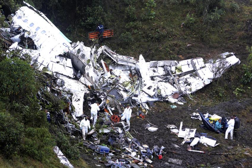 Accidente en Colombia: todo apunta a la falta de combustible