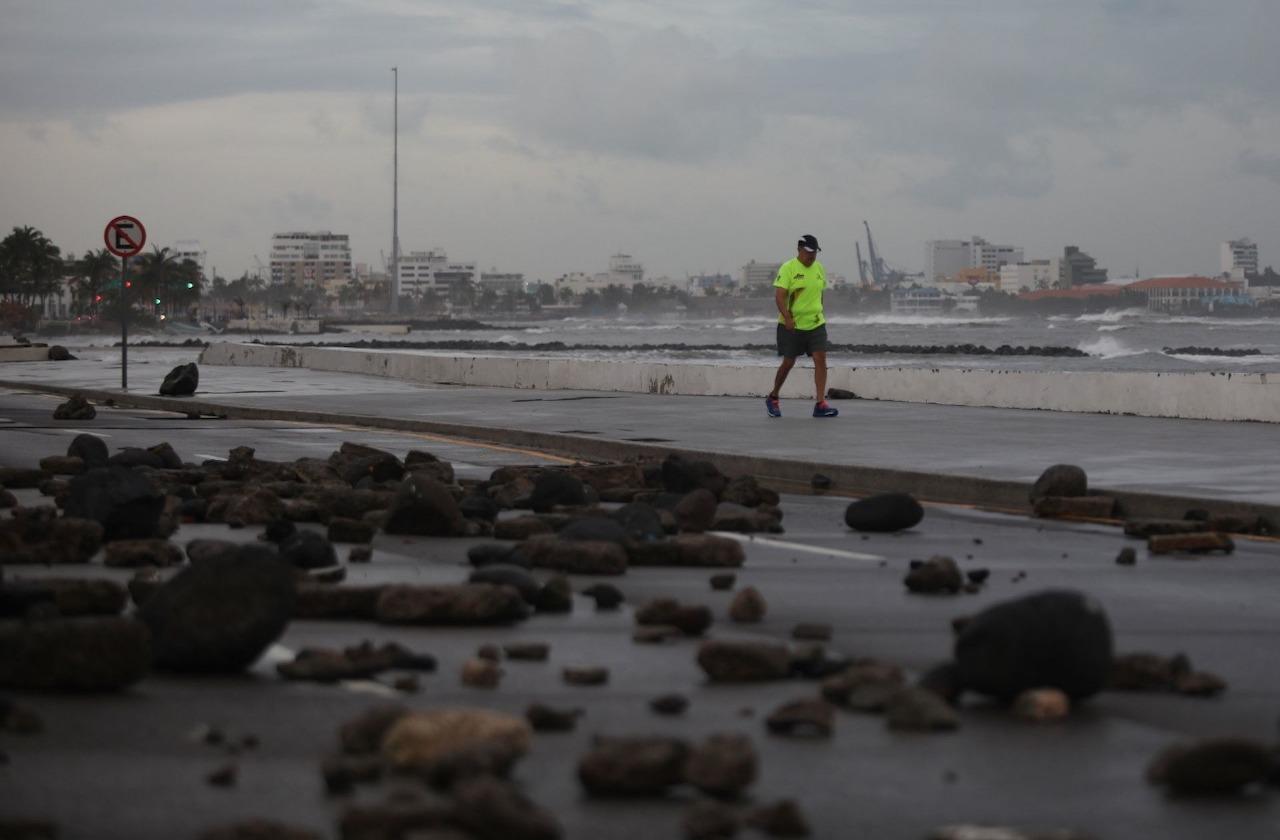 Aviso Especial en Veracruz por Frente Frío 27; continuarán nortes