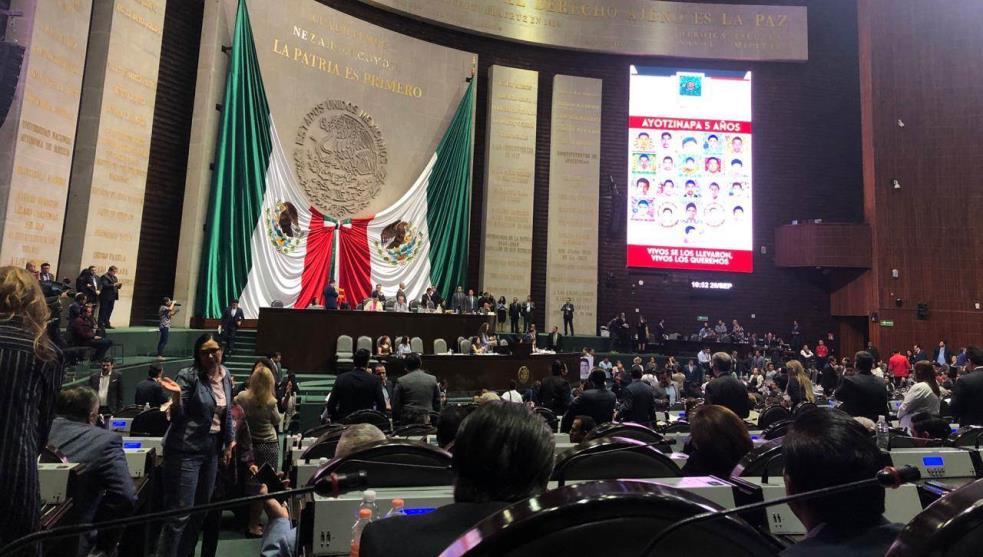 A cinco años de Ayotzinapa,