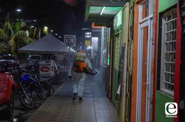 Cierra ayuntamiento de Tlalixcoyan por aumento de casos covid
