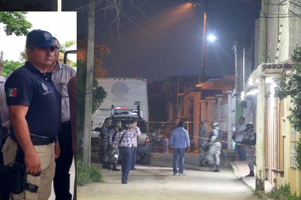 Asesinan a director de Seguridad en San Juan Evangelista