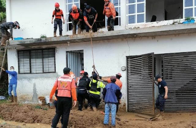 Grace deja primera víctima fatal; una menor de siete años muere en Xalapa