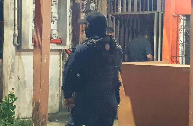 Marinos ebrios lanzan disparos al aire: acusan vecinos en Coatza