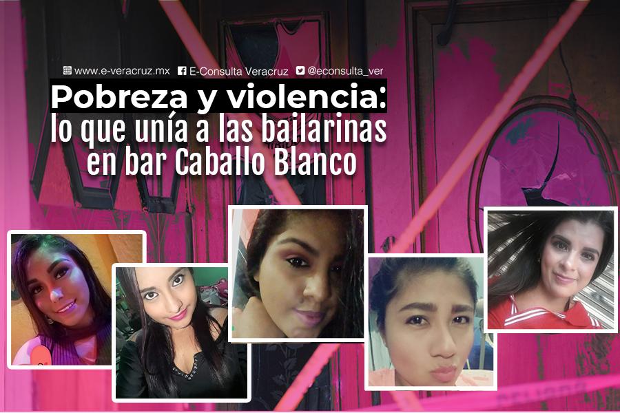 Pobreza y violencia: lo que unía a las bailarinas en bar Caballo Blanco