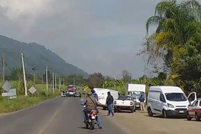 Dos muertos por balacera en carretera Fortín-Huatusco, eran del CJNG
