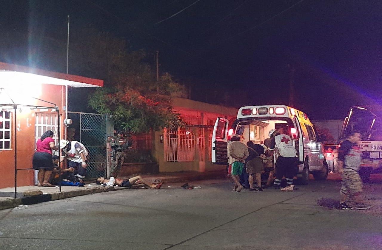 Balean a 3 en Acayucan; segundo atentado en barrio de Alcalde
