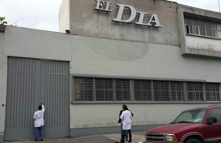 Desconocidos balean oficinas del periódico capitalino El Día