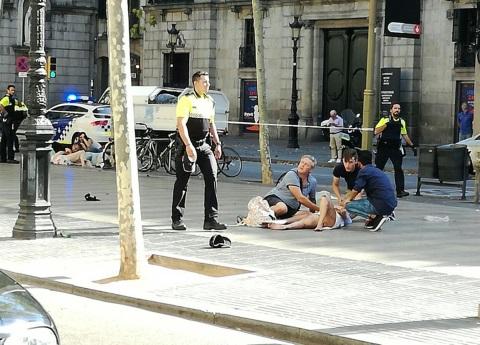 El terror golpea a la orgullosa Barcelona