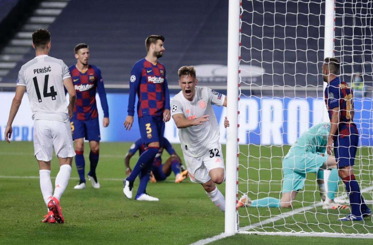 Barcelona y las peores goleadas de su historia en Champions