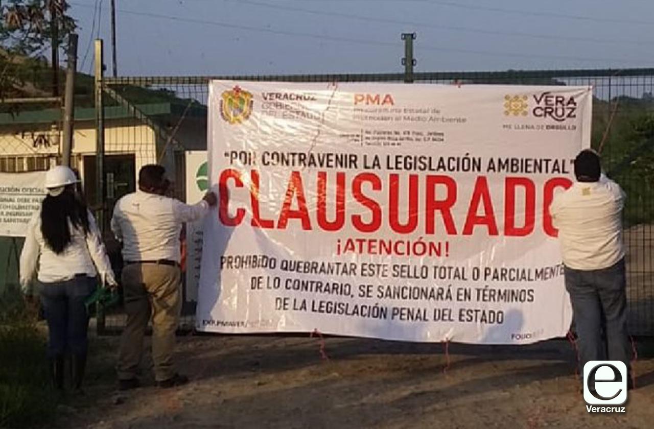 Clausuran basurero en Poza Rica, irregularidades eran evidentes desde 2019