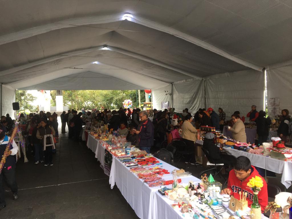 Con Bazar Navideño, promueven economía local de Xalapa