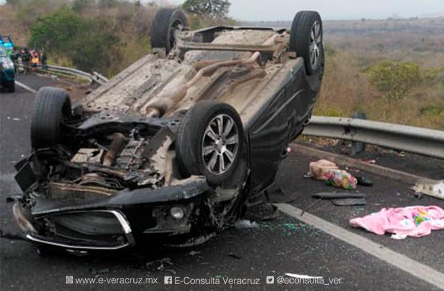 Bebé de 3 meses fallece en accidente vial de Cerro Gordo