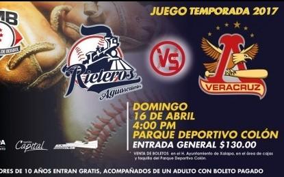 Este domingo 16, Rojos del Águila contra Rieleros de Aguascalientes