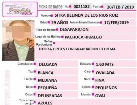 Desaparece en Hidalgo y su cuerpo es hallado en Poza Rica
