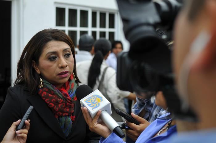 Exige Maryjose Gamboa comparecencia de titular de la CEAPP