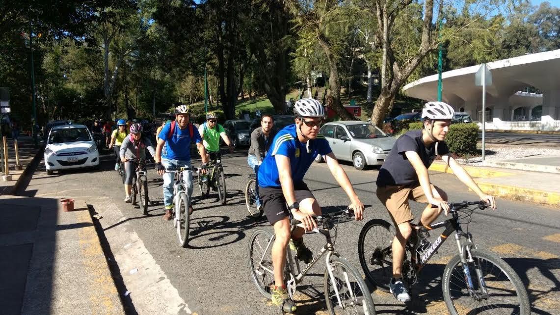 Habilitarán ciclo vías en calles y avenidas de Xalapa