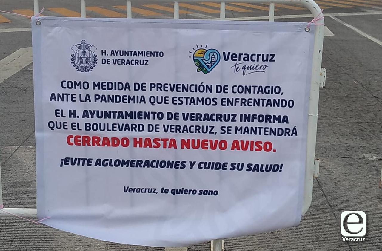 Ayuntamiento cierra bulevar costero a turistas