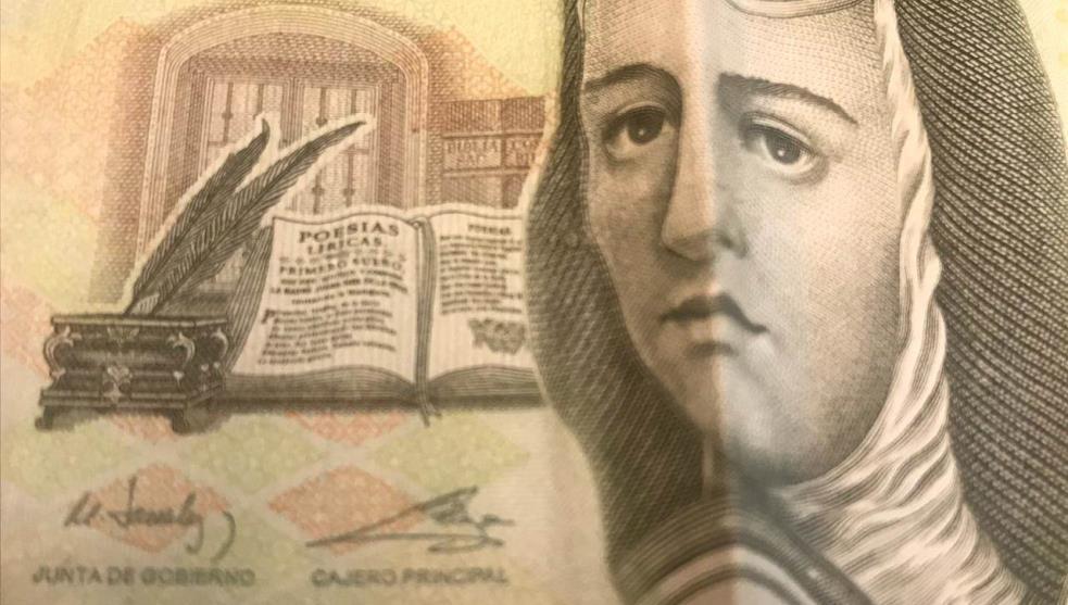 Banxico le dirá adiós a Sor Juana