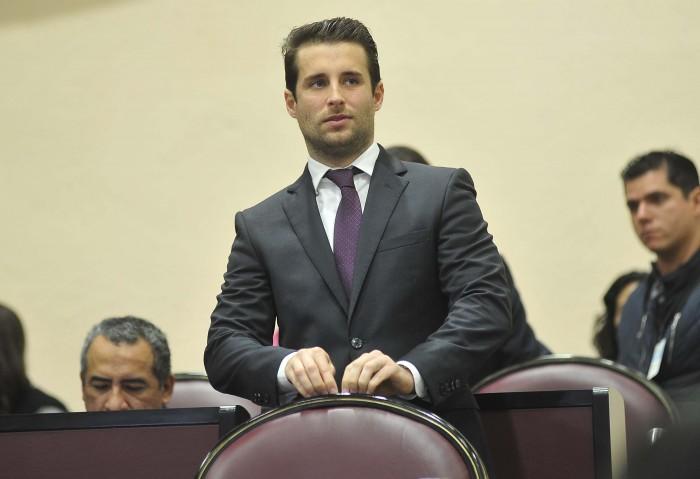 Bingen Rementería pide licencia al cargo al Congreso de Veracruz