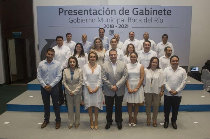 ¿Quiénes integran el gabinete de Humberto Alonso Morelli?