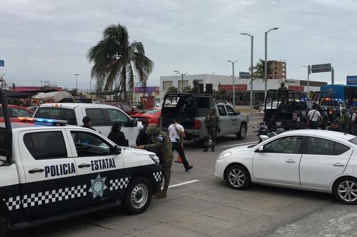 Fuerte movilización policial por presunto secuestro en Boca del Río
