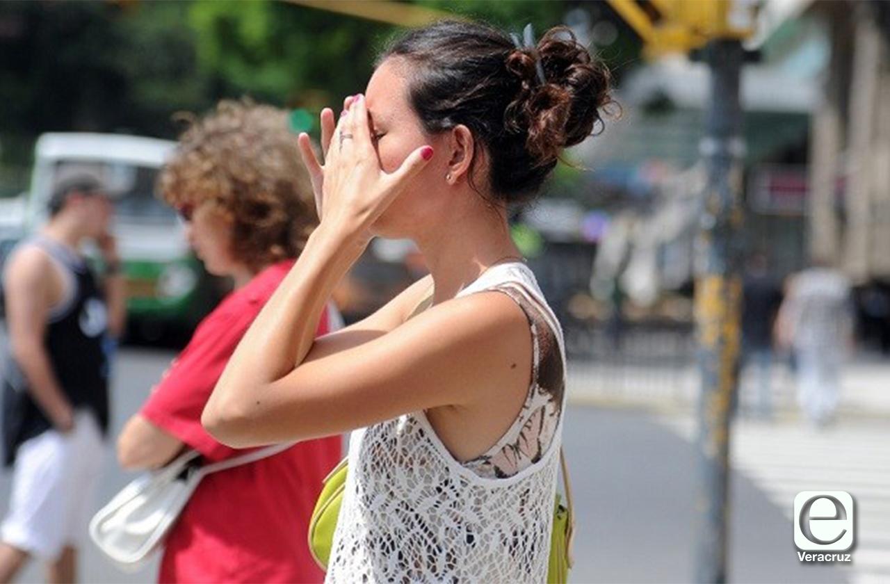 Fin de semana bochornoso para Veracruz: PC