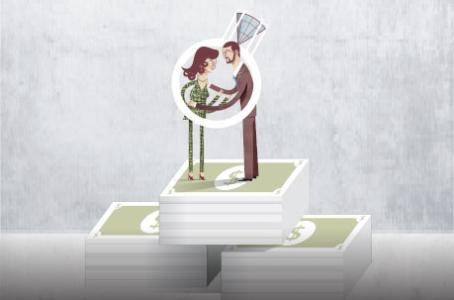 El arte del amor y el dinero: si te casas, ¡duplicas tu riqueza!