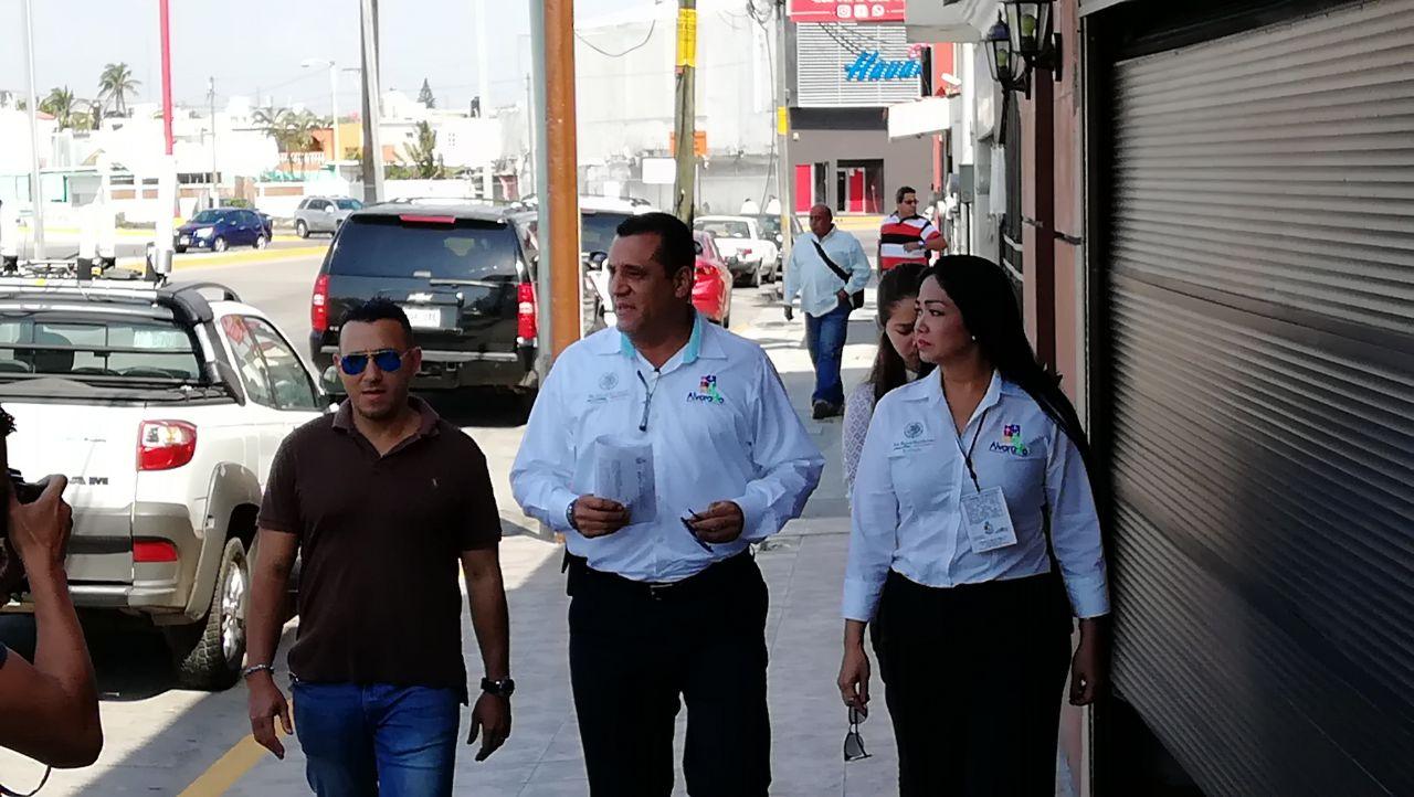 Alcalde de Alvarado interpone denuncia por incendios del sábado