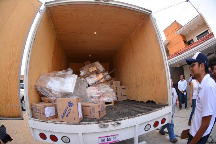 Llegaron casi 250 mil boletas electorales a Coatzacoalcos