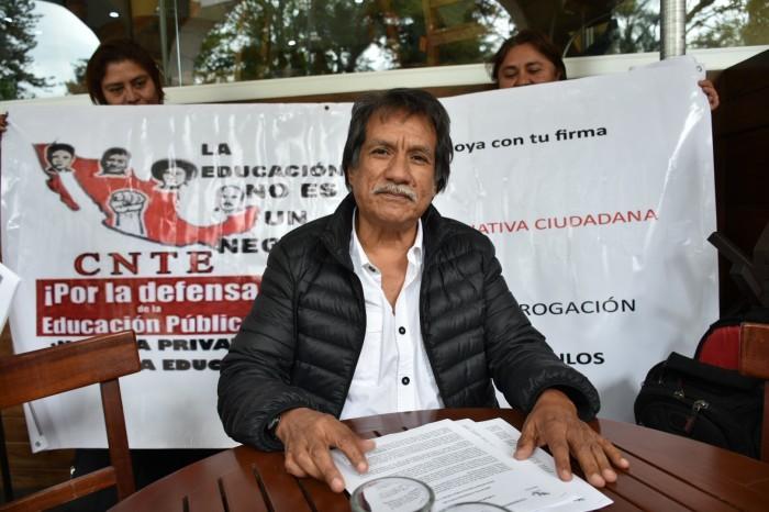 La CNTE prepara contrarreforma a Ley de Educación