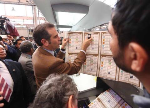 Inicia impresión de boletas electorales para presidente de México