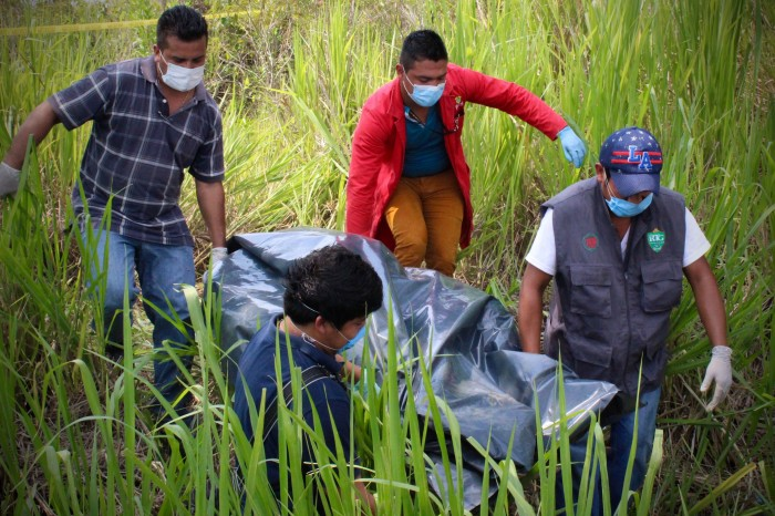 Muertos a puñaladas y un embolsado en la zona centro de Veracruz