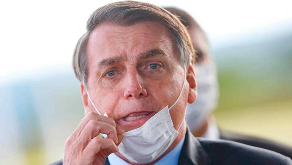 Bolsonaro, presidente de Brasil da positivo a covid
