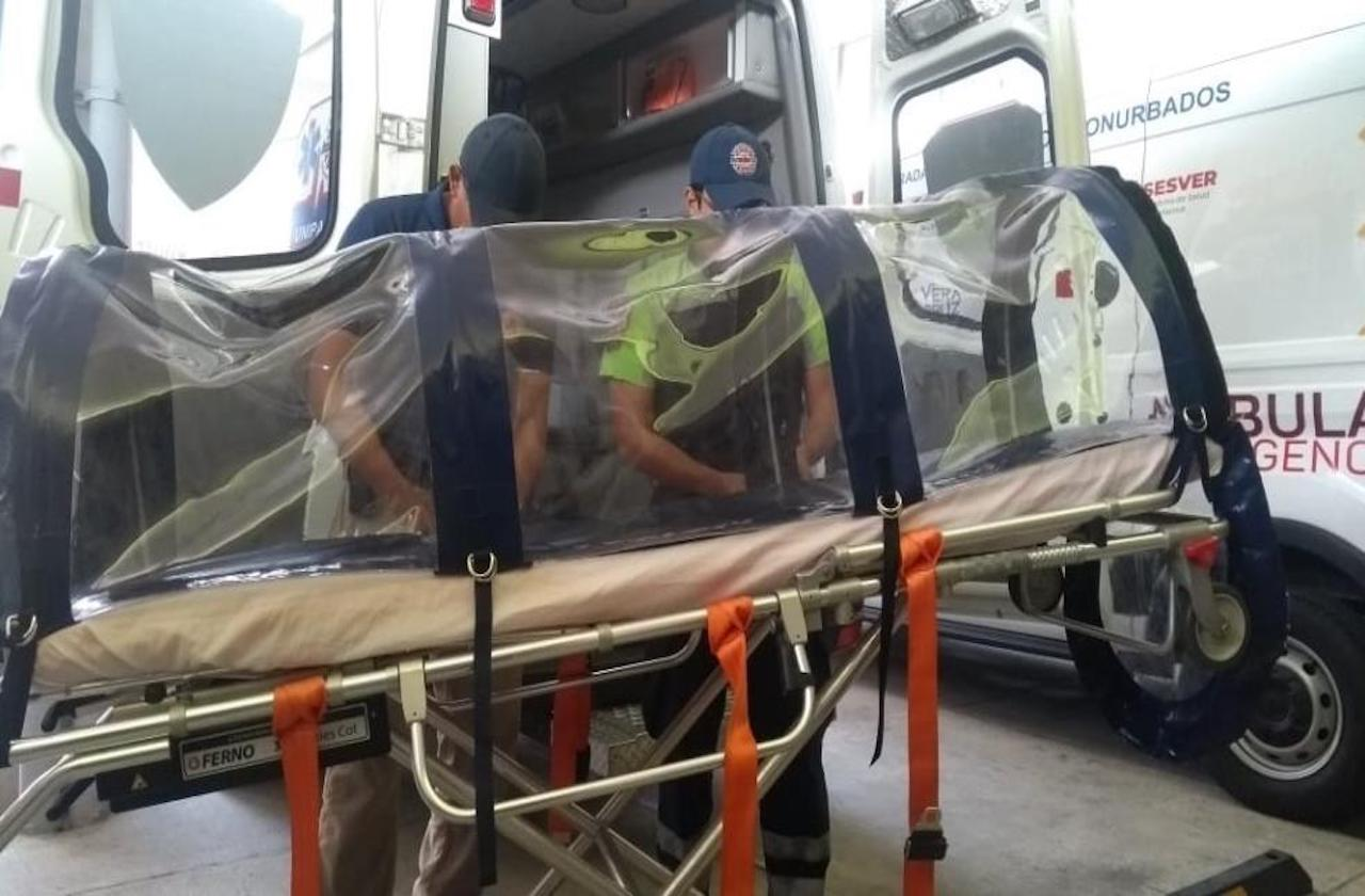 Bomberos eleva costo para traslado de pacientes con coronavirus