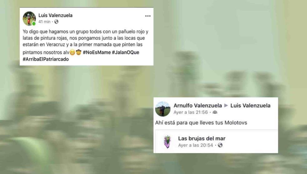 Amenazan a feministas que organizan performance en Veracruz