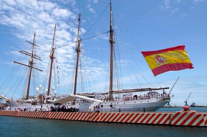 Estos son los horarios para visitar el buque escuela Juan Sebastián de Elcano