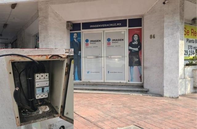 Imagen Radio se queda fuera del aire por robo de cable en Veracruz