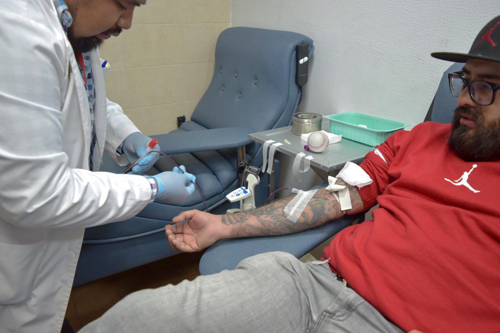 Realizan jornada de sensibilización y donación de sangre