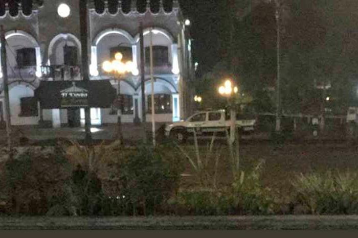 Fortín cierra jornada violenta con hallazgo de una cabeza frente al Palacio Municipal