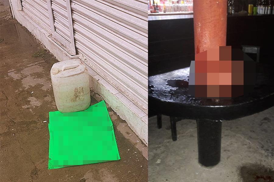 Abandonan cabezas cercenadas en el norte de Veracruz