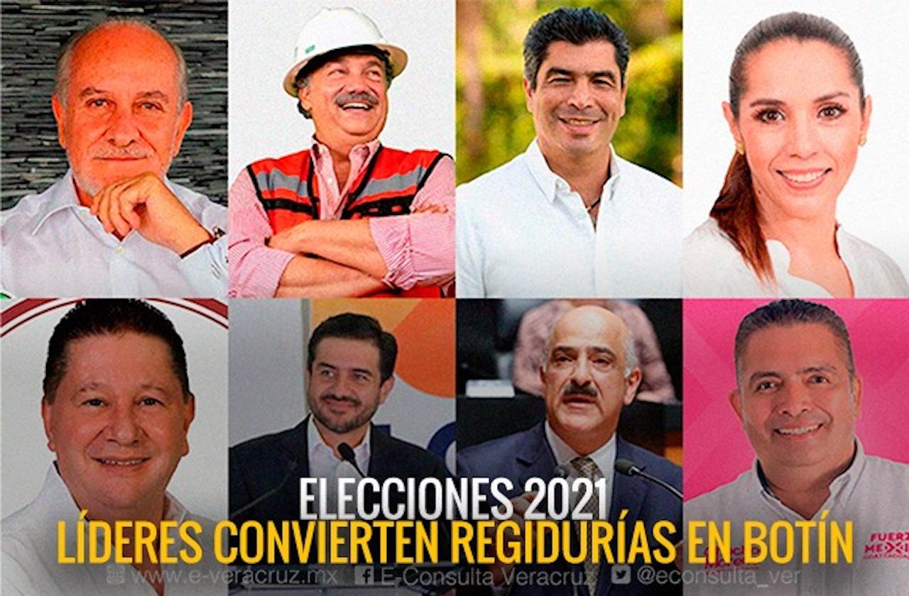 ¿Cabildos cooptados? Así repartieron regidurías partidos de Veracruz