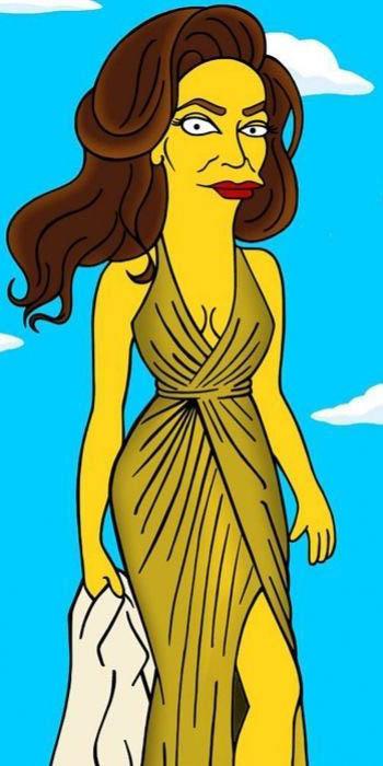 Caitlyn Jenner ahora es una Simpson